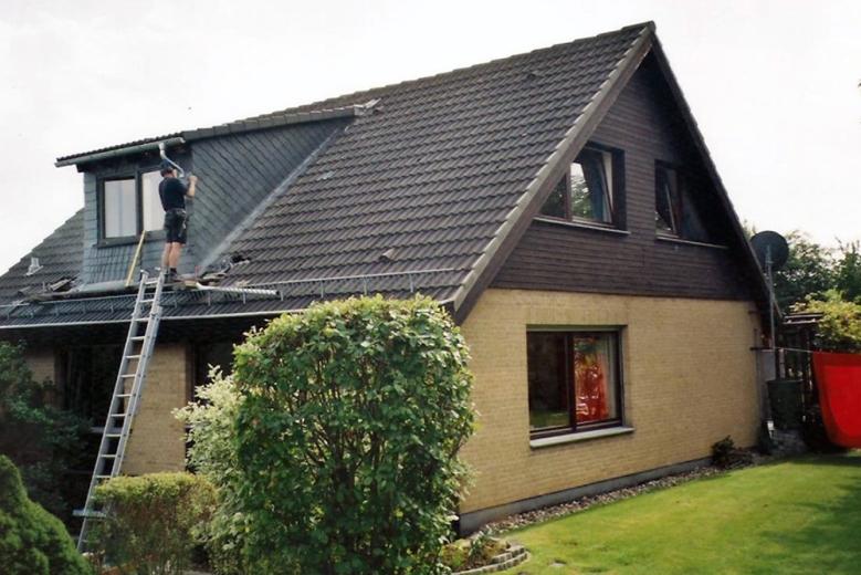 b Aufbau einer Dachgaupe 004