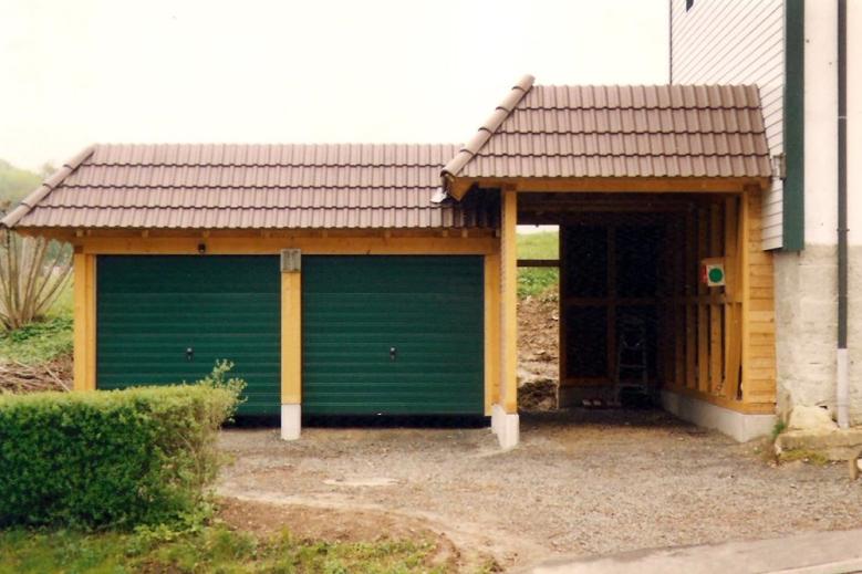b Garagenanlage 001 in Fachwerkbauweise