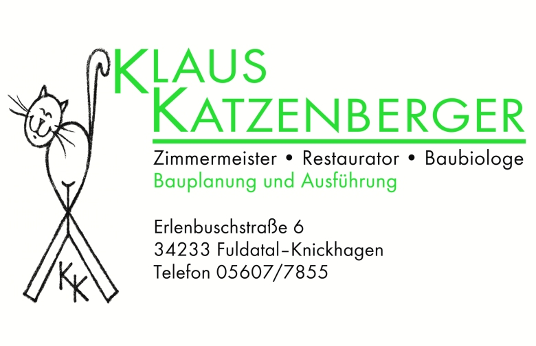 Visitenkarte Katzenberger ohne fax